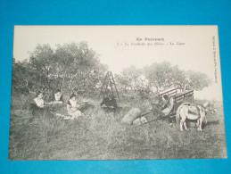 """84 ) Métiers - En Provence - N° 5 - La Cueillette Des Olives - Le Diner """"   - EDIT : Bru - Unclassified"""