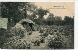 CPA 95  MONTMORENCY  HUTTE DE BUCHERONS EN FORET - Montmorency