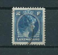 1944 Luxemburg 20 Fr. Definitive Charlotte Used/gebruikt/oblitere - Gebruikt