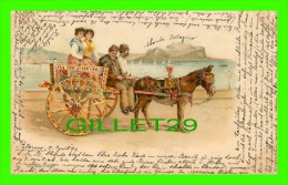 PALERMO, ITALIA - TRAVEL IN 1899 - UNDIVIDED BACK - - Palermo