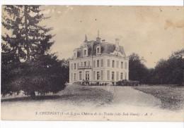 CHEDIGNY. - Château De La Touche. Carte Pas Courante - Altri Comuni