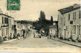 CPA  40 Landes HAGETMAU Avenue Robert Ducourneau - Hagetmau