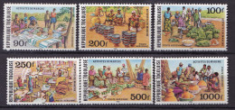 TOGO  PA SERIE  N° 448 A 453 NEUF** LUXE - Togo (1960-...)
