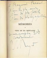 DEDICACE DE PAUL REYNAUD MEMOIRES 1878 A 1940 HOMME POLITIQUE FRANCAIS MORT EN 1966 PRESIDENT DU CONSEIL EN MARS 1940 - Livres Dédicacés