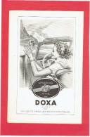 PUBLICITE SUISSE DE 1950 MONTRE DOXA HORLOGERIE - Bijoux & Horlogerie