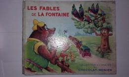 Album Chromo - 048B - Les Fables De La Fontaine; édité Par Chocolat Menier; Environ Année 1950; Avec Images Complet - Menier