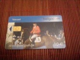 Phonecard Sport 10 euro  Avec Nummero  en rougeJH 30/062006 Used Petite tirage Rare 2 Scans
