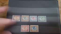 LOT 286381 TIMBRE DE COLONIE COTE DE SOMALIS NEUF* N�37 A 42 VALEUR 27,6 EUROS