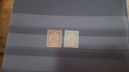 LOT 286392 TIMBRE DE COLONIE MADAGASCAR  NEUF* N�39/40