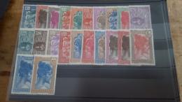 LOT 286395 TIMBRE DE COLONIE MADAGASCAR  NEUF* N�161 A 178 VALEUR 37,5 EUROS