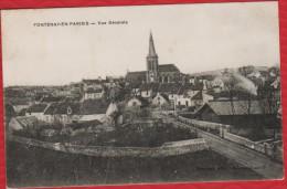 95 FONTENAY EN PARISIS - VUE GENERALE - R/V - Autres Communes