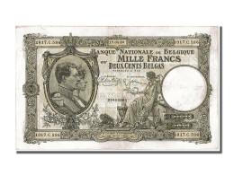 Belgique, 200 Belgas / 1000 Francs Type National Vert - [ 2] 1831-... : Regno Del Belgio