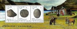 Faroe Islands - 2015 - Religion In The Viking Age - Mint Souvenir Sheet - Faeroër