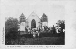 La Reunion St Paul Bois De Nefles Eglise Nd De La Visitation - Saint Paul