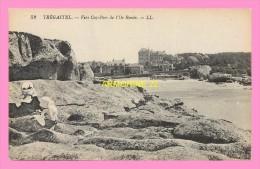 CPA  TREGASTEL Vers  Coz Pors De L Ile Ronde - Trégastel