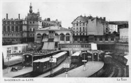 78 St Germain En Laye La Gare Animée - St. Germain En Laye