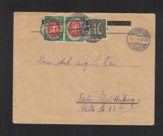 Dt. Reich Brief 1921 Naumburg Nach Berlin - Briefe U. Dokumente