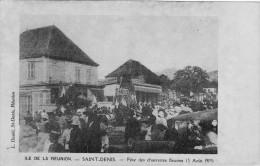 La Reunion St Denis 3 08 1919 Fete Des Charrettes Fleuries - Saint Denis