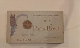 27 - TILLIERES-SUR-AVRE - Carnet De 12 Cartes Postales Hostellerie Du Bois Joly - Hotel Restaurant - Tillières-sur-Avre