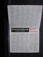 Calendrier. 6. Opticien Vanderlinden 1960 - Calendriers