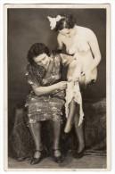 FEMME  NUE NU EROTIQUE Lesbienne  Lesbiennes  ANCIENNE CHARME - Fine Nudes (adults < 1960)