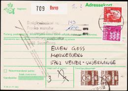 1978. Adressekort. Franko Mangler 100 øre. + BORUP 22.11.78. (Michel: ) - JF181235 - Postage Due