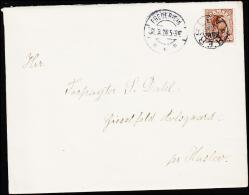 1924. HERSLEV + FREDERICIA 31.3.24. 20 øre Chr. X.  (Michel: ) - JF181228 - Non Classés