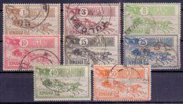 Rumänien Mi. 146-153 Gest. (€ 60,00) - Ansehen!! - 1881-1918: Charles I