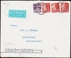 1941. KØBENHAVN 28.4.41. 10 + 3 X 20 øre. Geöffnet Oberkommando Der Wehrmacht,  (Michel: ) - JF181248 - Non Classés