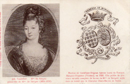 CPA VALREAS - MME DE SIMIANE - Historical Famous People