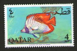 QATAR 1965 - PESCI IN ACQUARIO - Num. Catalogo:  Michel  QA 75A  Nuovo 47x31 Mm - Qatar