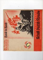 KRAFT DURCH FREUDE - DEUTSHE ARBEITSFRONT -JULI 1940 - SACHSEN - Tedesco