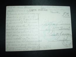 CP OBL.24-7-40 STE MARGUERITE (13) + CACHET BLEU HOPITAL COMPLEMENTAIRE LE MEDECIN-CHEF - Marcophilie (Lettres)