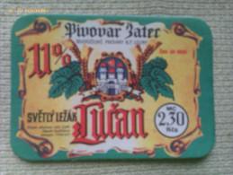 Etiqueta Cerveza Lucan. República Checa. Años ´90 - Cerveza