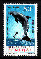 Senegal MNH Scott #326 50fr Bottle-nosed Dolphin - Sénégal (1960-...)
