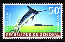 Senegal MNH Scott #C115 50fr Xiphias Gladius Espadon - Sénégal (1960-...)
