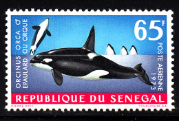 Senegal MNH Scott #C116 65fr Orcinus Orca - Sénégal (1960-...)