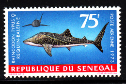 Senegal MNH Scott #C117 75fr Rhincodon Typus Requin-baleine - Sénégal (1960-...)