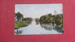 - River Scene  Wisconsin> Janesville  ==== ====2105 - Janesville