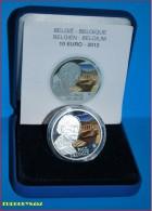 BELGIE - 10 € 2012 ZILVER PROOF - PAUL DELVAUX - STOCKVERKOOP EINDEJAARSACTIE - Belgium