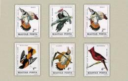 Hungary 1985. Animals / Birds Complete Set MNH (**) Michel: 3760-3765 / 6 EUR - Oiseaux