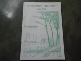 Boekje (14 X 21cm ,20 Blz) Natuurgebied Den Tösch Maaseik Wandelgids - Books, Magazines, Comics