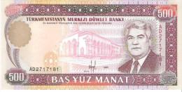 Turkmenistan - Pick 7 - 500 Manat 1995 - Unc - Turkmenistan