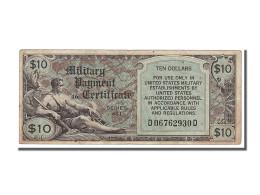 Etats-Unis, 10 Dollars Type Military Payment Certificate - Series 481 - Certificati Di Pagamenti Militari (1946-1973)