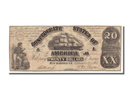 Etats-Unis, 20 Dollars Type Confédérés - Confederate Currency (1861-1864)