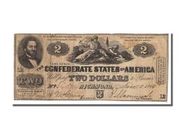 Etats-Unis, 2 Dollars Type Confédérés - Confederate Currency (1861-1864)