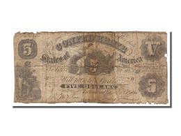 Etats-Unis, 5 Dollars Type Confédérés - Confederate Currency (1861-1864)