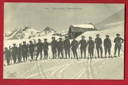 MBO-10  Dans Les Alpes  Skieurs Militaires. Circulé Sous Enveloppe - Manovre