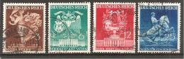 Michel 768/771 O - Deutschland