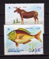 State Of Oman °-  Used . Animaux.    Vedi Descrizione - Oman